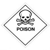 Hazard safety sign - Poison 056
